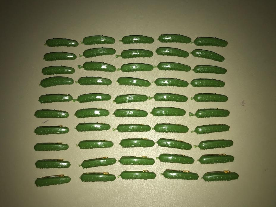 50 HEINZ PICKLE PINS, official collectible, lot of 50 new
