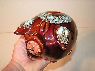 Original 1957 Corky Pig Ceramic Piggy Bank