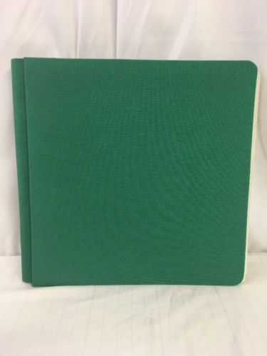 Creative Memories Bright Kelly Green Cloth 12x12 Album Cover Scrapbook 12