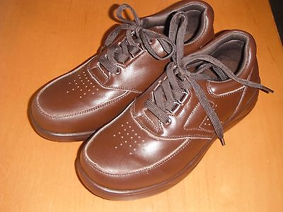 $55 NWOB STRIDE LITE Leather Diabetic Medical Therapeutic Shoes Women 6XW Men 5W