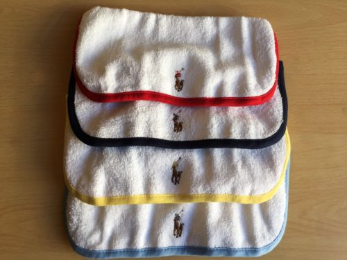 New NWT Ralph Lauren POLO Baby Boy Bath Towel Baby Shower Gift Hot Easter Item