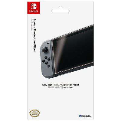 Nintendo Switch Screen Protector Protective Film Protection Cover Clear Licensed