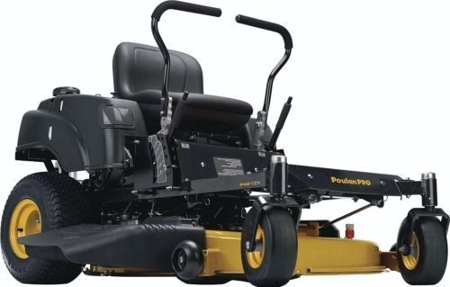 Poulan Pro P46ZX Briggs V-Twin Pro 22 HP Cutting Deck Zero Turn Radius Riding Mo