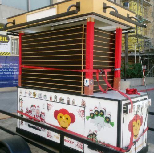 Used Mall Cart Kiosk RMU Business Opportunity