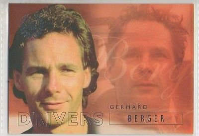 #22 Gerhard Berger - Grand Prix Collector Card