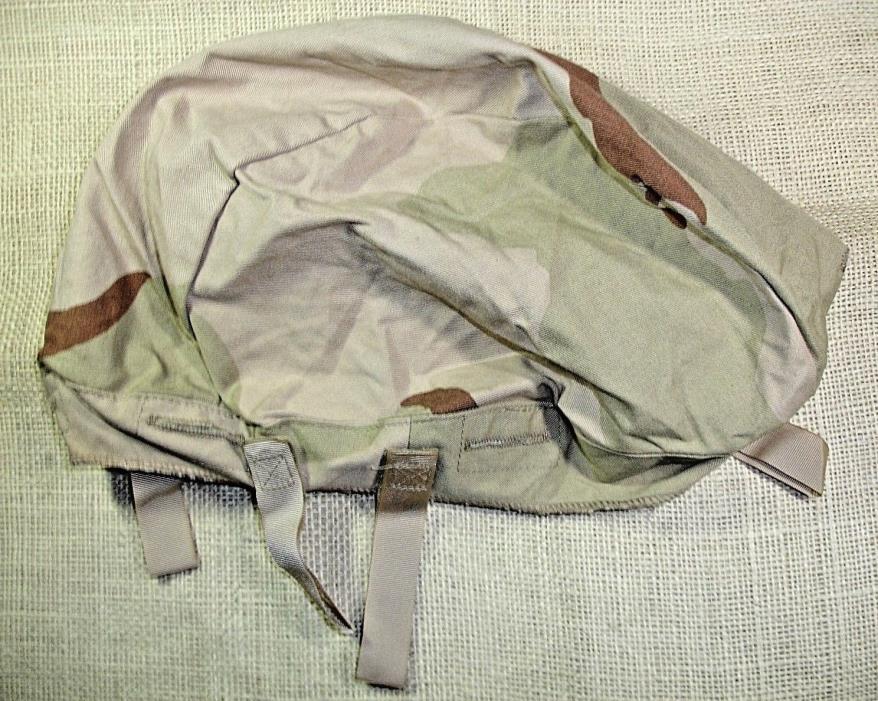 USGI Army Desert Camo Camouflage Helmet Cover ONLY MEDIUM/LARGE