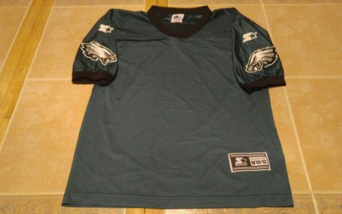 VTG Philadelphia Eagles NFL Starter Authentic Blank Jersey Youth medium 10 -12
