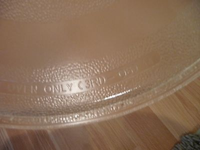 Glass Microwave Plate Replacement Turntable 11 3/8