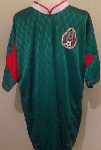 Mens Mexico Soccer Jersey Fits Size XL