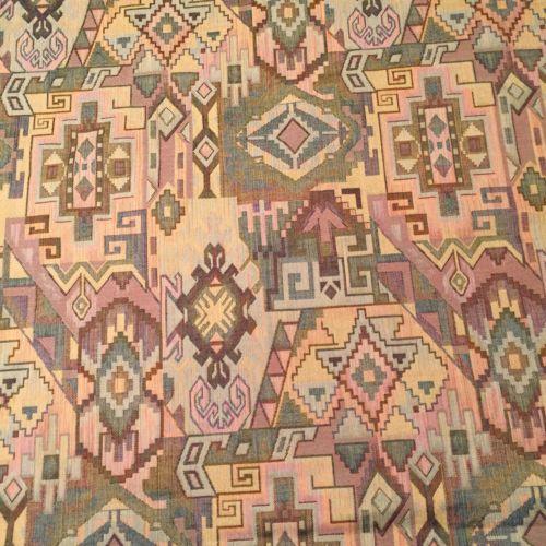 Upholstery Fabric, 6.5 Yds, Woven, Geometric Design, Medium Weight