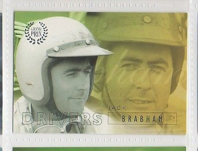 #23 Jack Brabham - Grand Prix Collector Card