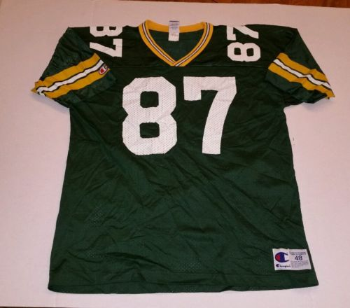 Vintage! Robert Brooks #87 Green Bay Packers NFL Champion Jersey Size (48) XL