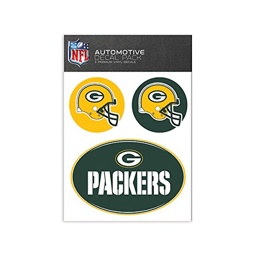 NFL Green Bay Packers Medium Decal Pack