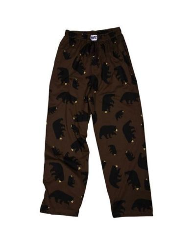 Lazy One Timberland Bear PJ Pants, Choice Of Sizes