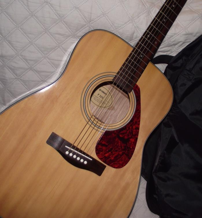 Yamaha f325 acoustic guitar for sale classifieds for Yamaha acoustic guitar ebay
