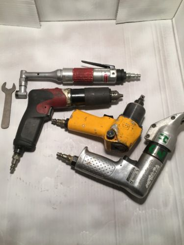 Desoutter 360 Drill Ingersoll Rand 3/8 Impact And Sheet Metal Shears And More..