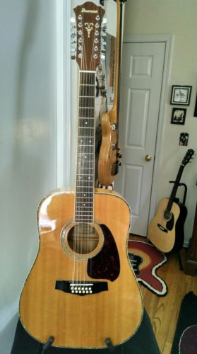 Ibanez M312 / 12 String Acoustic guitar 1982