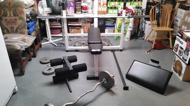Bodysmith Workout Bench