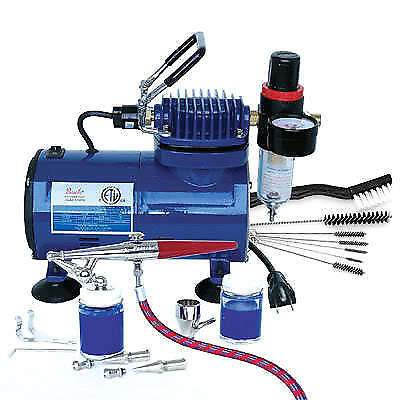 Paashe Airbrush H Set Compressor & DVD Kit