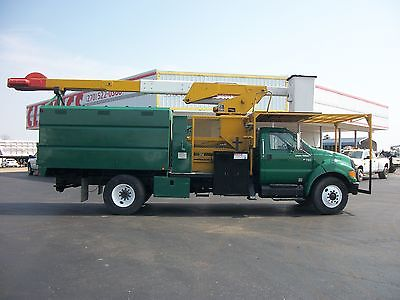2005 Ford F750 Bucket Truck Bucket Trucks