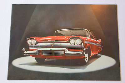 Original vintage Plymouth Fury car brochure