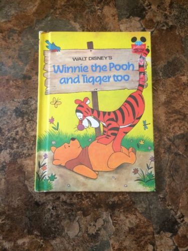 Walt Disneys Winnie The Look And Tigger Too. 1975 Excellent