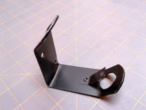 Vintage Class Room Flag Steel Pole Bracket Holder ANNIN Black Paint 1.25 Inches