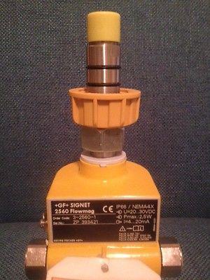 GEORG FISCHER  +GF+ SIGNET 2560 FLOWMAG FLOW CONTROL