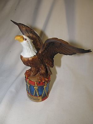 Ski Country Eagle on Drum Mini Decanter