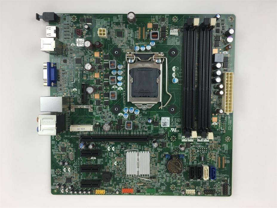 Dell Studio XPS 8300 Vostro 460 Desktop Motherboard LGA1155 DH77M01 Y2MRG 0Y2MRG