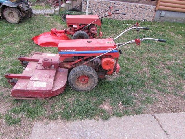 Gravely 5460  walkbehind tractor w/ 40'' mower