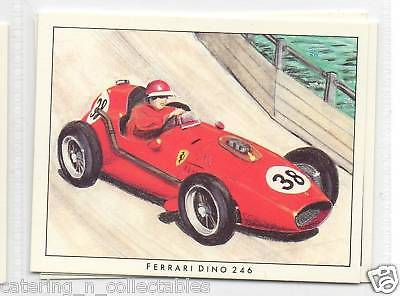 #22 Ferrari dino 246 grand prix early years trade card