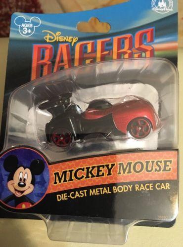 Disney Racers MICKEY MOUSE Die Cast Metal Body Race Car