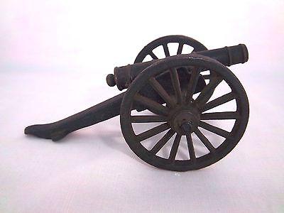 Vintage  Antique Toy Cannon Cast Iron Miniature