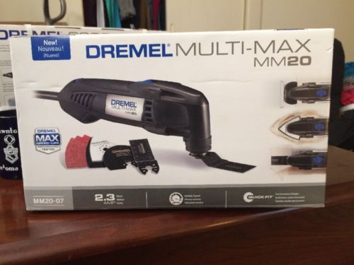 Dremel MM20-07 2.3-Amp Multi-Max Oscillating Tool Kit with 6 Universal