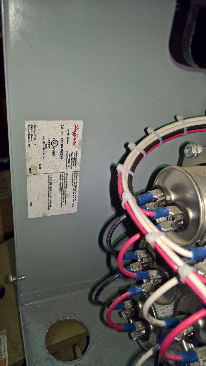40 hp Phoenix  rotary phase converter