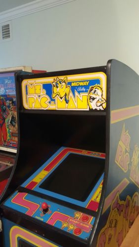Mrs pac man arcade machine