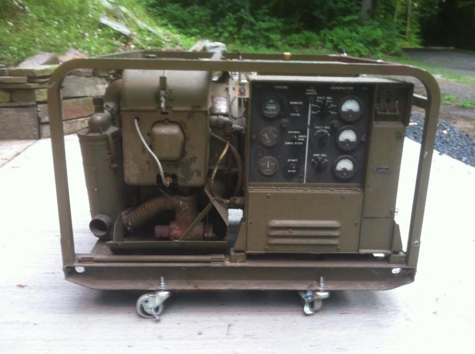Military 5KW Generator