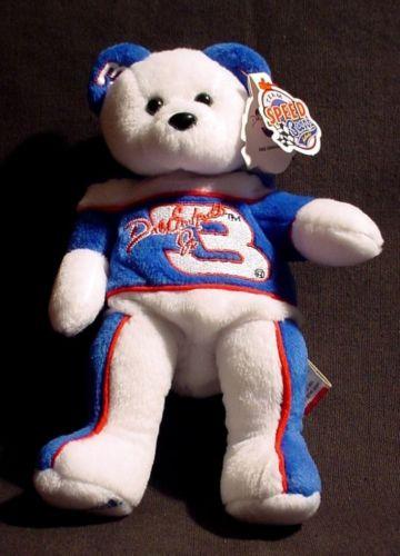 #3 Dale Earnhardt Jr. NASCAR Retired 1999 Team Speed Bears