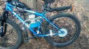 Motorized bike mountain bike 26