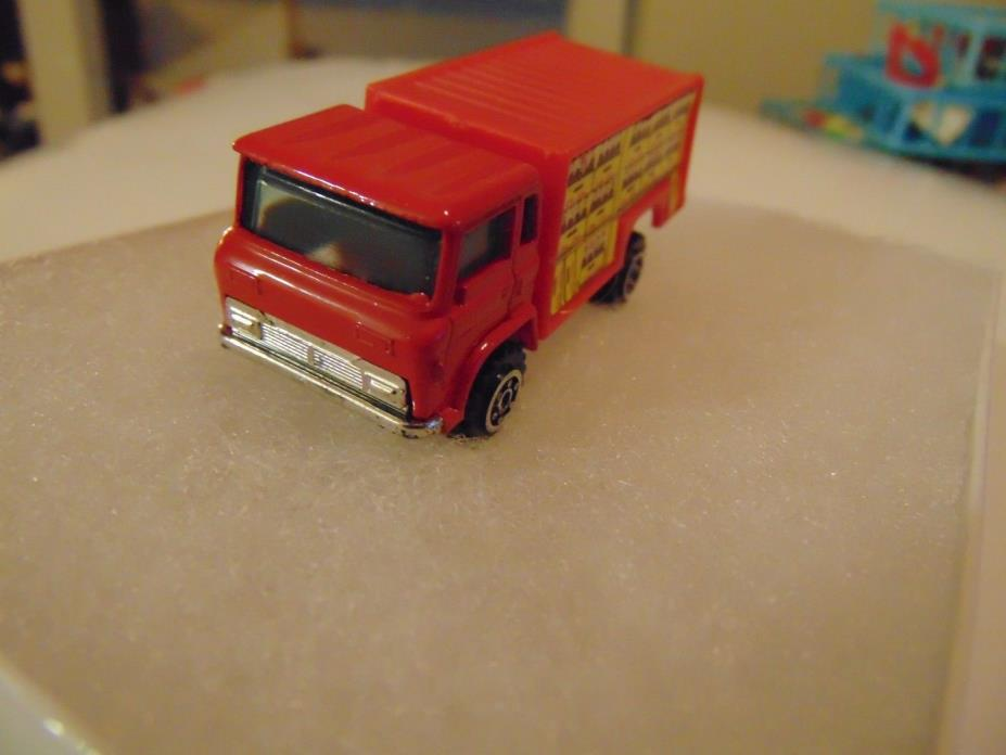 Vintage Yatming Red Coca Cola Delivery Truck