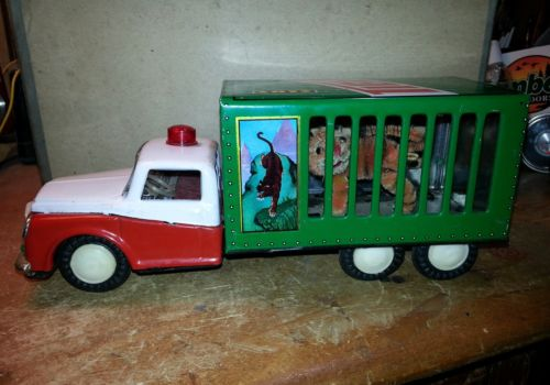 Tiger Toys Friction Truck. 1970's