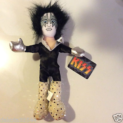 ACE FREHLEY KISS DOLL Figure Soft Plush Rock & Roll Band 11