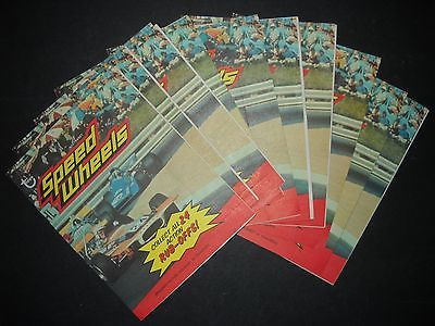 1974 SPEED WHEELS RUB-OFFS PACKS (PARTIAL SET HAS 11 OF 24) TOPPS