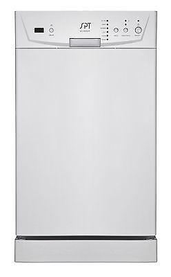 SPT 18 Inch Energy Star Built-In Dishwasher White SD-9252W New