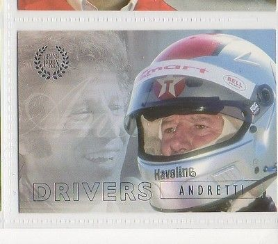 #21 Mario Andretti - Grand Prix Collector Card