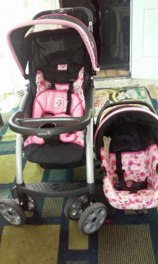 baby stroller whit car seat