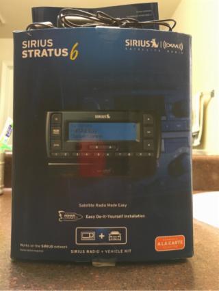 Sirius Stratus 6 DIY Satellite Radio