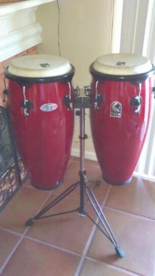 Congas con stand
