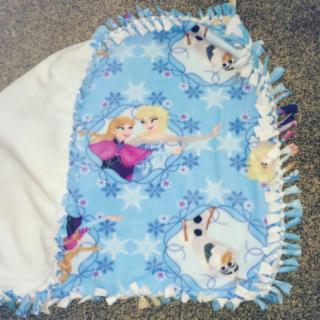 Frozen Baby/Toddler Love Knot Blanket